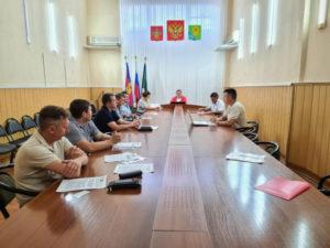 Обсудили вопросы транспортной безопасности и внедрение ЭРА-ГЛОНАСС в Ейском районе